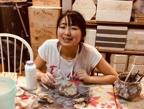 Pottery class with Angelika Veach